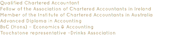 Qualified Chartered Accountant
